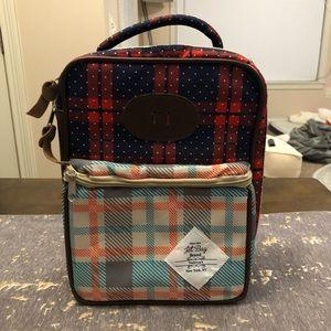 NWOT Jet Bag Multi Plaid Lunch Bag